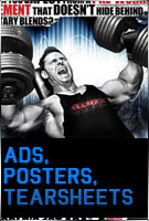 Ads, Posters, Tearsheets
